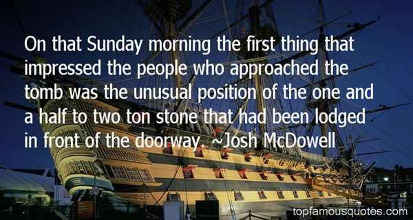 Josh McDowell Quotes