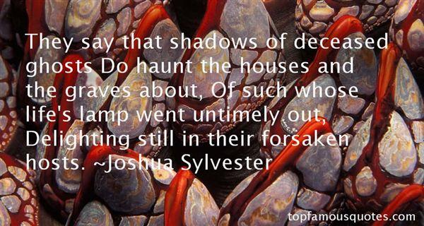 Joshua Sylvester Quotes