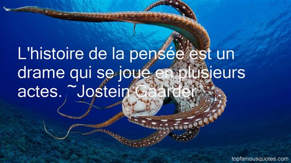 Jostein Gaarder Quotes