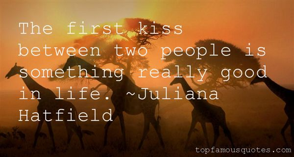 Juliana Hatfield Quotes