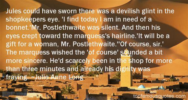 Julie Anne Long Quotes