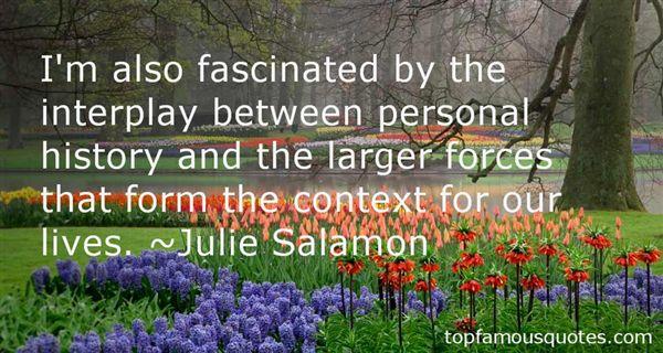 Julie Salamon Quotes