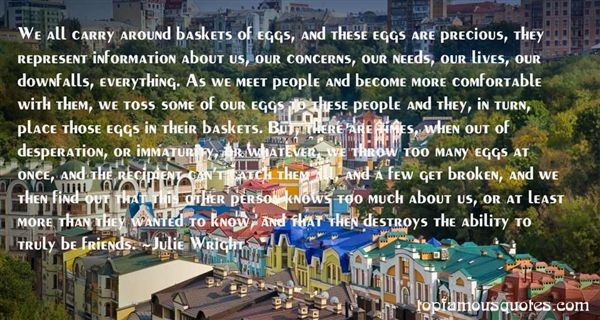 Julie Wright Quotes