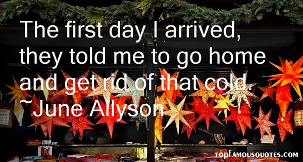 June Allyson Quotes