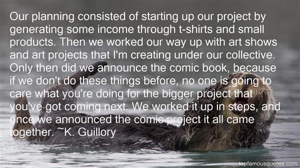 K. Guillory Quotes