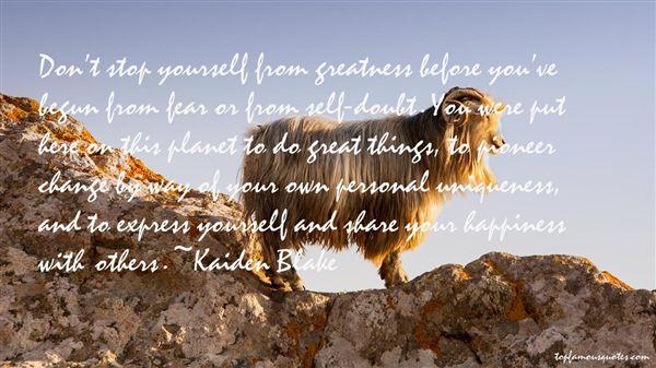 Kaiden Blake Quotes