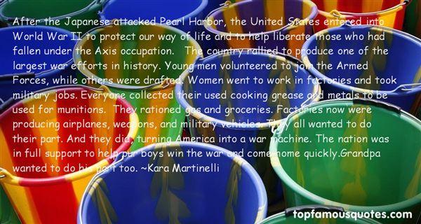 Kara Martinelli Quotes