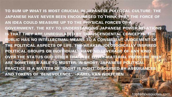 Karel Van Wolferen Quotes