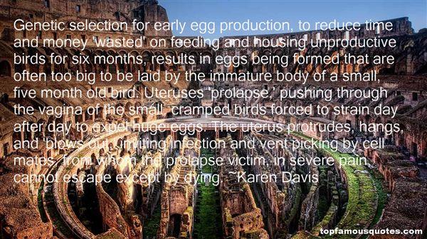 Karen Davis Quotes