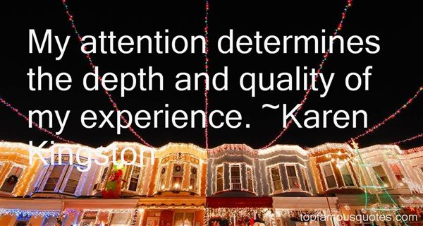 Karen Kingston Quotes