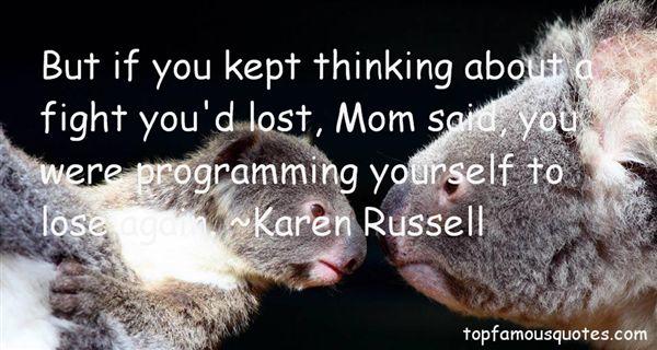Karen Russell Quotes