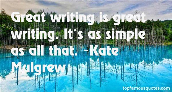 Kate Mulgrew Quotes