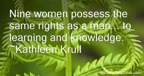 Kathleen Krull Quotes