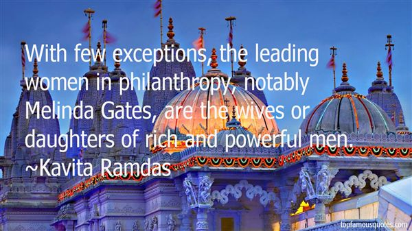 Kavita Ramdas Quotes