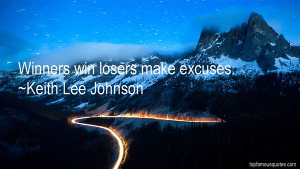 Keith Lee Johnson Quotes