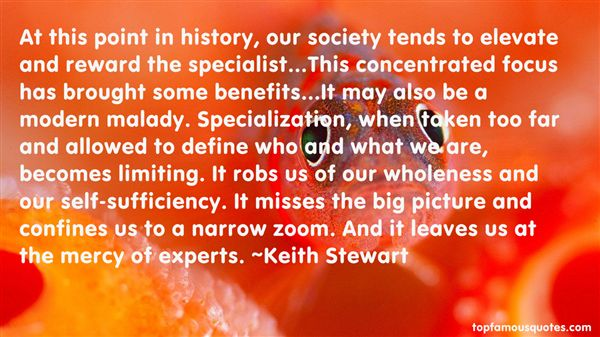 Keith Stewart Quotes