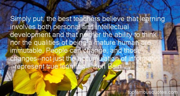 Ken Bain Quotes