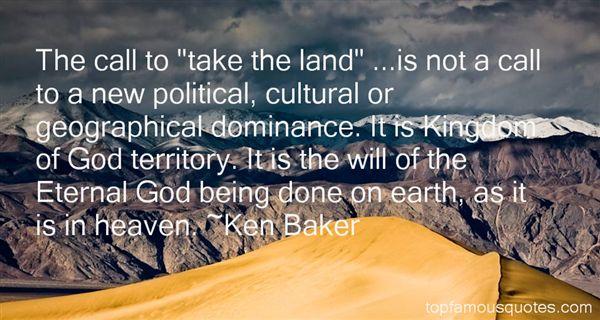 Ken Baker Quotes