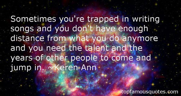 Keren Ann Quotes
