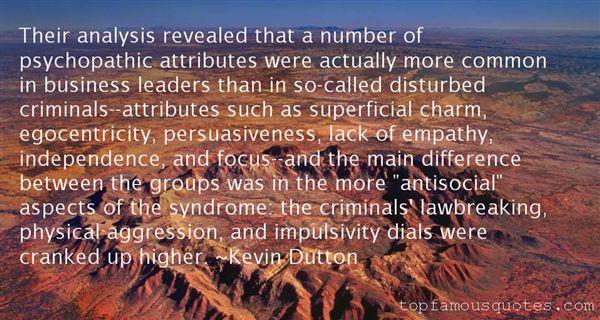 Kevin Dutton Quotes