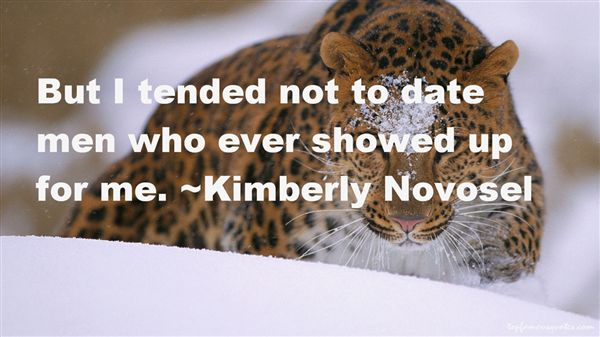 Kimberly Novosel Quotes