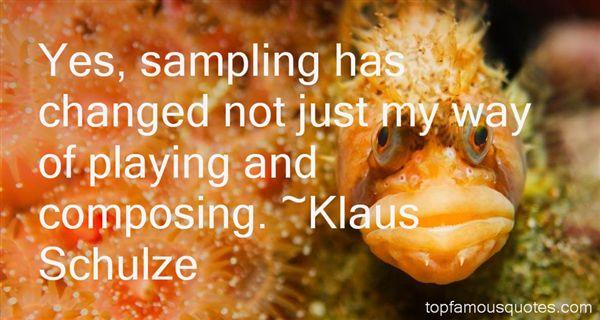 Klaus Schulze Quotes