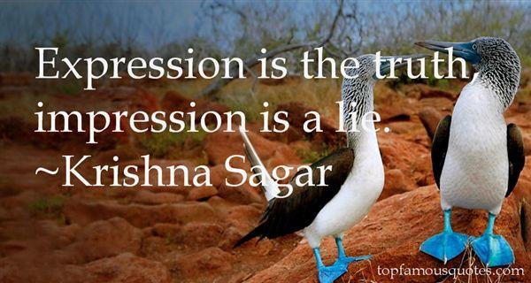 Krishna Sagar Quotes