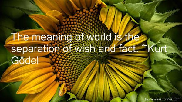 Kurt Gödel Quotes