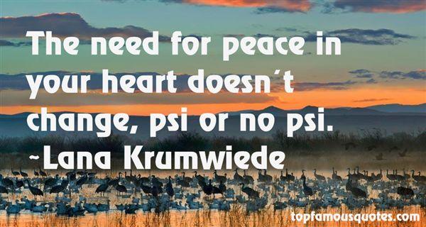 Lana Krumwiede Quotes