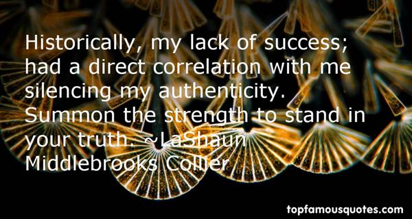 LaShaun Middlebrooks Collier Quotes