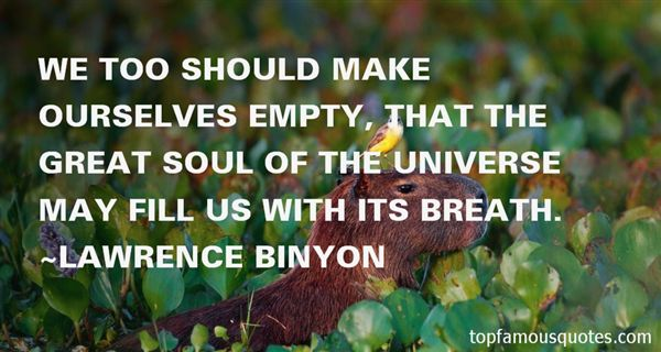Lawrence Binyon Quotes