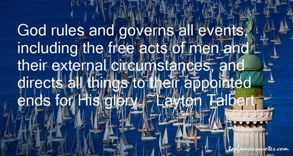Layton Talbert Quotes