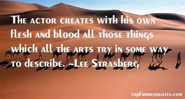 Lee Strasberg Quotes
