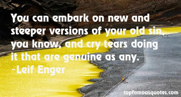Leif Enger Quotes