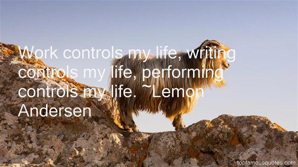 Lemon Andersen Quotes