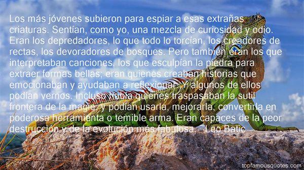 Leo Batic Quotes