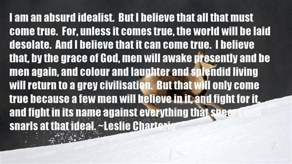 Leslie Charteris Quotes
