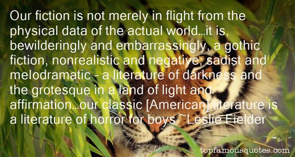 Leslie Fielder Quotes