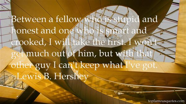 Lewis B. Hershey Quotes