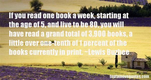 Lewis Buzbee Quotes