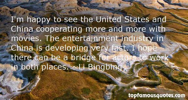 Li Bingbing Quotes
