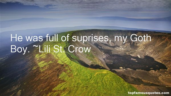 Lili St. Crow Quotes