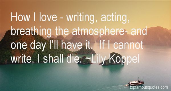 Lily Koppel Quotes