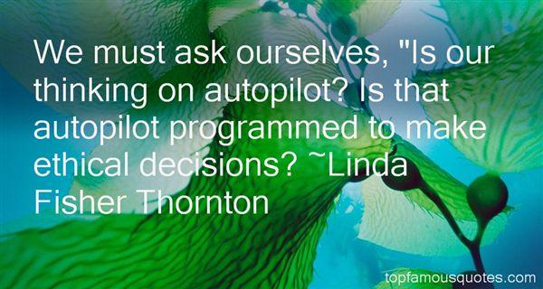 Linda Fisher Thornton Quotes