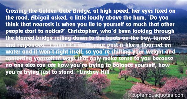 Lindsay Hill Quotes