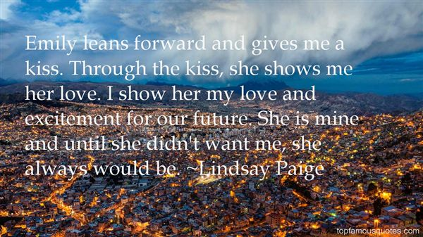 Lindsay Paige Quotes