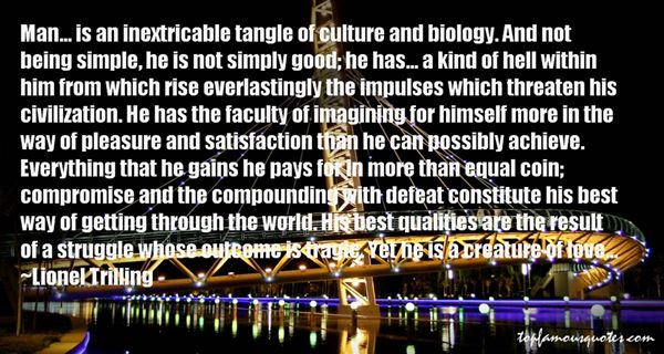 Lionel Trilling Quotes