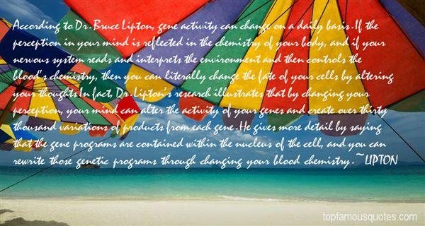 LIPTON Quotes