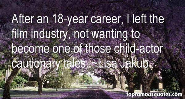 Lisa Jakub Quotes