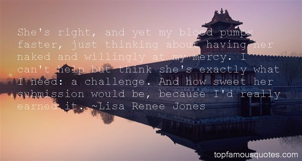 Lisa Renee Jones Quotes